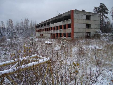 Здание на участке 0.25 га, г.Протвино.
