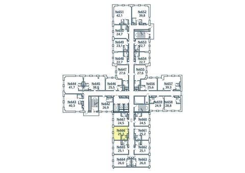 Москва, 1-но комнатная квартира, ул. Радиальная 6-я д.7, к 35, 2901301 руб.