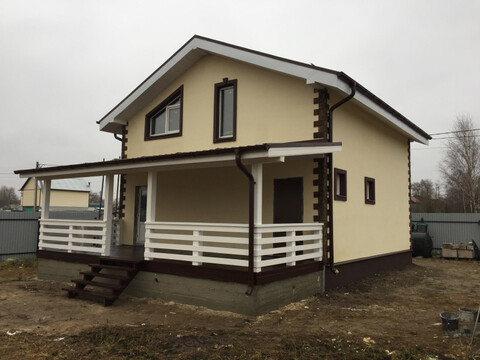 Продается новый дом 120м2 на 7 сот. ИЖС д. Цибино, ул. Весенняя