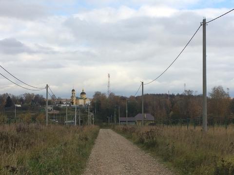 Участок 10 соток ЛПХ село Шарапово Чеховский район