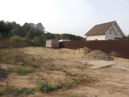 Земельный участок под ИЖС 750 кв.м без дома в г.Старая Купавна