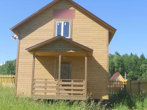 Деревянный дом в ДНП Берёзки, Московская область, Можайский район.