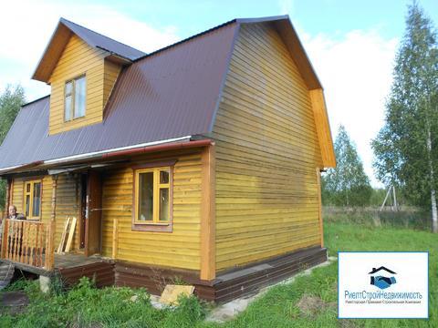 Дом в деревне со всеми коммуникациями рядом с городом