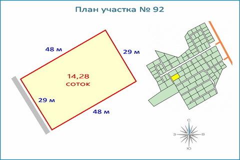 Участок 14,2 соток в кп, ипотека, рассрочка, 10 км от ЗЕЛАО г. Москвы
