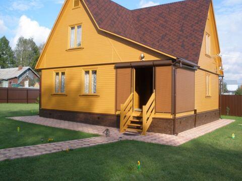 Дом 123 кв.м на участке 16 соток в д. Беклемишево