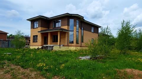 """Двухэтажный загородный дом в коттеджном посёлке """"Комильфо"""""""