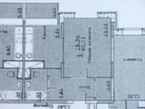 Однокомнатная квартира в Люберцах на улице Кирова д. 9 к.1