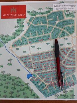 Продается участок в коттеджном посёлке Мартемьяново