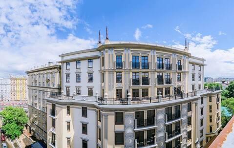 Жилой комплекс «Каретный Плаза». Элитные апартаменты 90,9 кв. м.