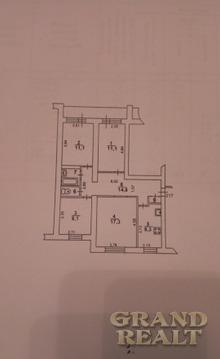 Светлая четырехкомнатная квартира с раздельными комнатами