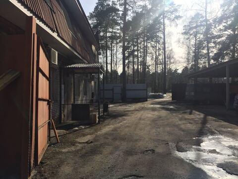 Производственная база на земельном участке 25 соток