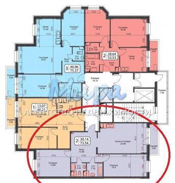Октябрьский, 2-х комнатная квартира, ул. Ленина д.25, 4450000 руб.