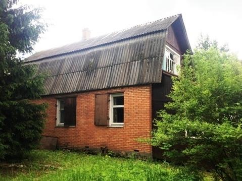 Дом из бруса на участке 13 соток в д. Денисиха, Рузский район
