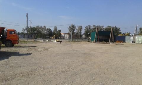Сдается ! Открытая площадка 1500 кв. м. Стоянка а/м и спецтехники.
