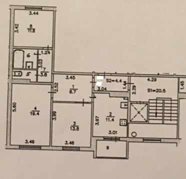 Продажа 3 комнатной квартиры Подольск Шепчинки Литейная 42