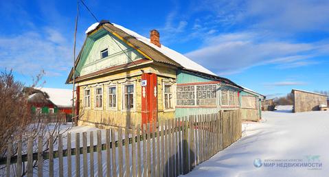 Дом в деревне Крюково Волоколамского района Московской области