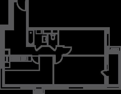 Москва, 2-х комнатная квартира, ул. Нагатинская д.вл.4, к.3, 13833500 руб.