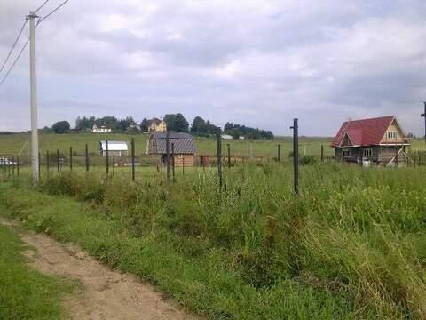 Участок 12 соток по Ярославскому или Дмитровскому шоссе