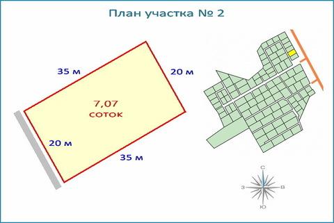 Участок 7 соток в новом кп, ипотека, 10 км от ЗЕЛАО г. Москвы
