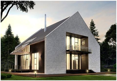 Кирпичный дом по оригинальному проекту в кп Стольный. 30 км Калужское