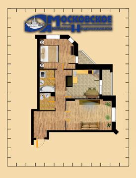 2-комнатная квартира, 70 кв.м.