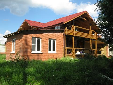 Супер дом 150 м в д.Пахорка на участке 30 сот.в Москве по Киевс.шоссе