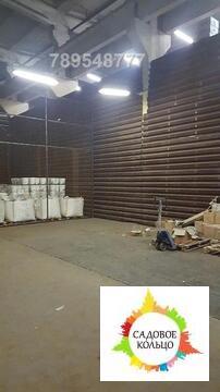 Кирпичный отапливаемый склад на охраняемой огороженной территории пром
