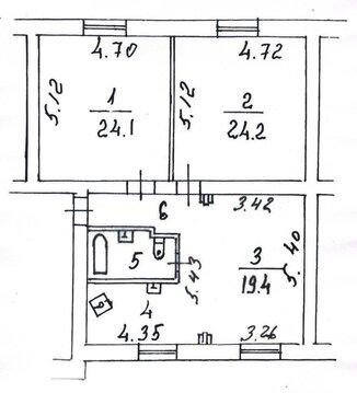 Срочно элитную 3-х ком. кв. 90 кв.м с евтроремонтом в сталинском доме