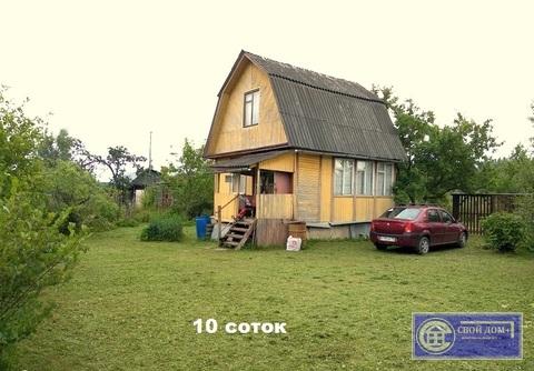 Дачный дом в уютном СНТ у опушки леса.