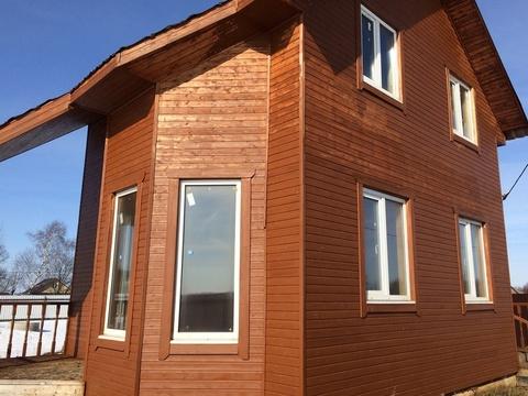 Серебренниково. Новый дом в деревне для круглогодичного проживания. 95