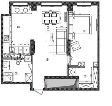 """2-комнатная квартира, 66 кв.м., в ЖК """"Богородский"""""""