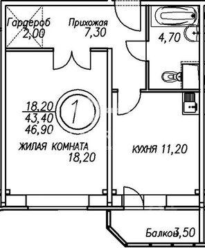 Продажа 1-ком. кв-ры, МО, Истринский р-н, с. Рождествено, Сиреневый .
