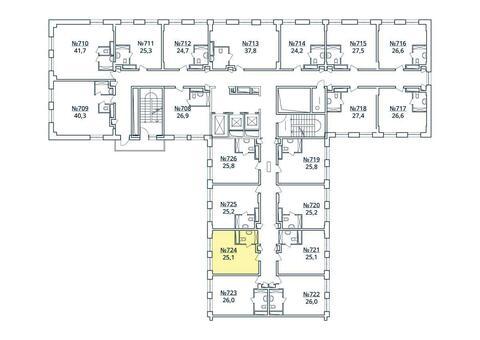 Москва, 1-но комнатная квартира, ул. Радиальная 6-я д.7, к 35, 2838960 руб.