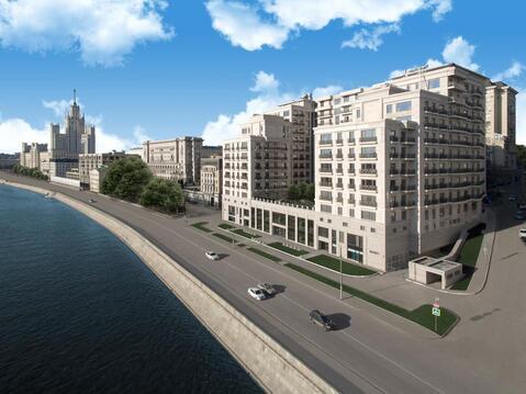 3-комнатная квартира, 123 кв.м., в Клубный дом на Котельнической набережной