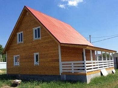 Продается новый дом(брус) 130м в д. Цибино, 15км от г.Раменское
