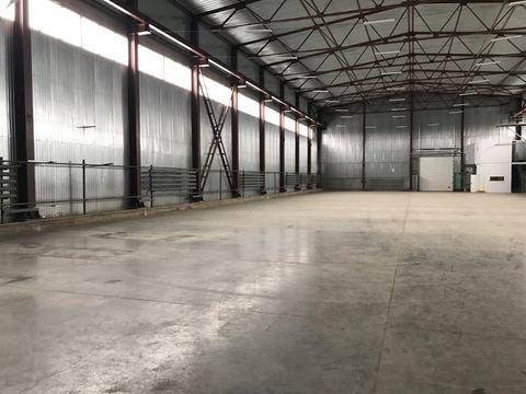 Аренда производственно-складского помещения 250 м2, пандус