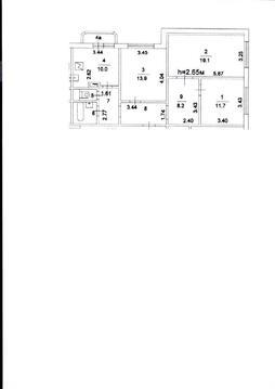 Продажа 3 комнатной квартиры м.Борисово (улица Мусы Джалиля)