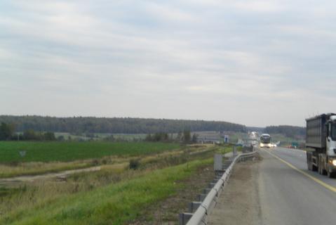 Пром. участок 1,32 Га на 1-й линии в 48 км по Симферопольскому шоссе