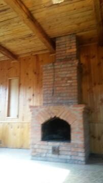Теплый кирпичный двух этажный дом с камином 50 км от Москвы