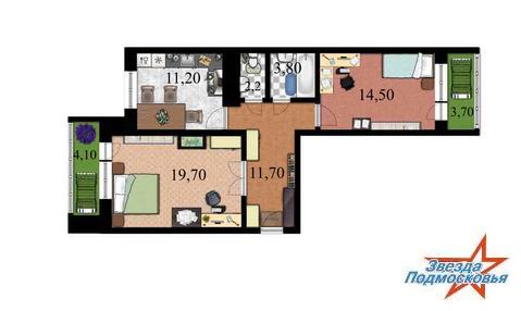 2 комнатная квартира ул. Московская дом 8
