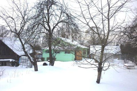 Дом 56 кв.м. бревно, зем.уч 16 с, г. Хотьково, ул. Горбуновская.