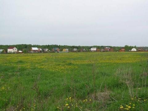 Участок 4,16 Га для малоэтажного строительства в 35 км по Киевскому ш.