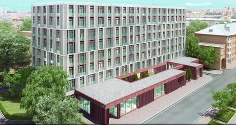 3-х комн. апартаменты 119 кв.м. в доме премиум-класса в ЦАО г. Москвы