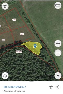 Село Строкино участок 20 соток крайний к лесу
