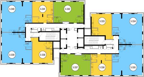Москва, 3-х комнатная квартира, Головинское ш. д.10, 16539300 руб.