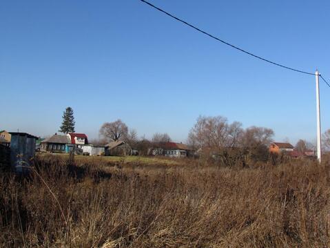 Продается земельный участок в д. большое Карасево Коломенского района