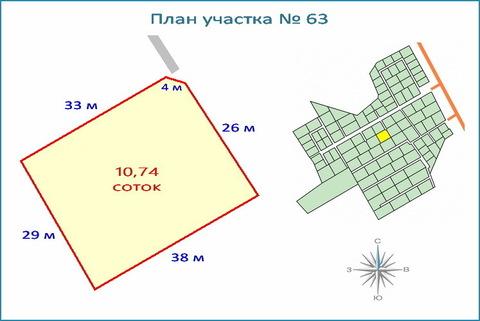 Участок 10,7 соток в кп, ипотека, рассрочка, 10 км от ЗЕЛАО г. Москвы