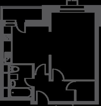 Москва, 1-но комнатная квартира, ул. Федора Полетаева д.15А, 6837160 руб.