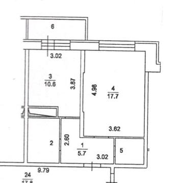 Подольск, 1-но комнатная квартира, ул. Садовая д.3 к2, 20000 руб.