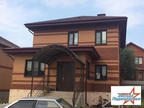 Кирпичный 2х этажный дом в г.Дмитров